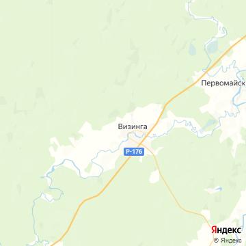 Карта Визинги