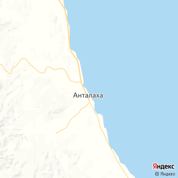 Карта Анталахи