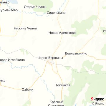Карта Челно-Вершин