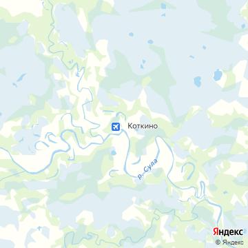 Карта Коткино
