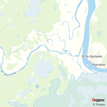 Карта Синегорья