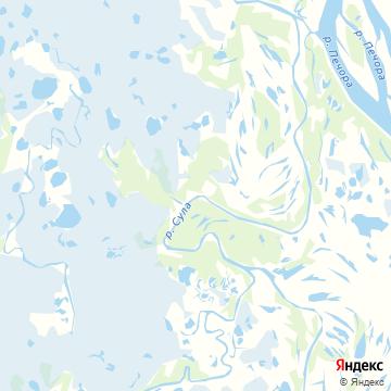 Карта Щелино