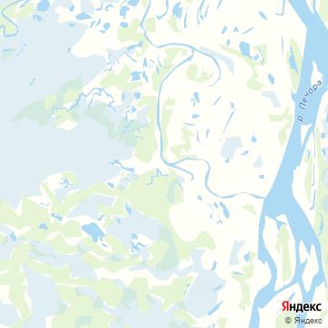 Карта Харьяги