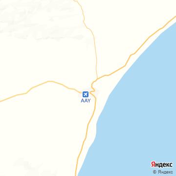 Карта Эль-Гайды