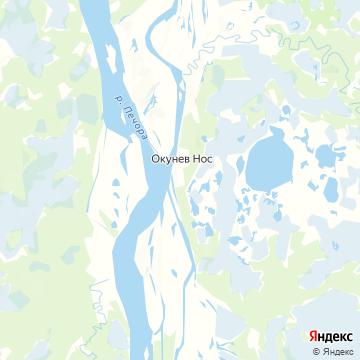 Карта Окунево