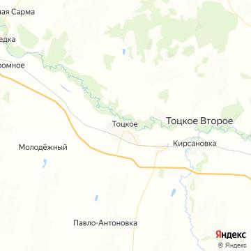 Карта Тоцкого