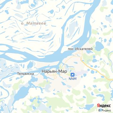 Карта Поселка Искателей