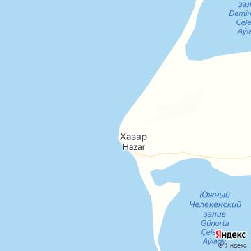 Карта Хазар