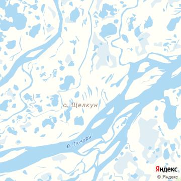Карта Осколково