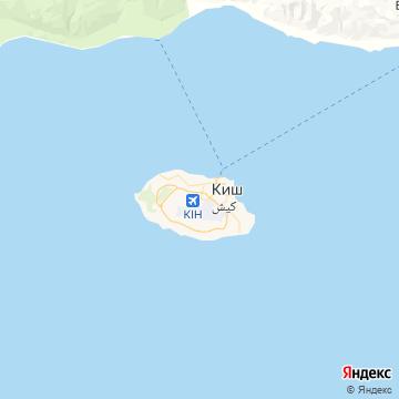 Карта Киша, острова
