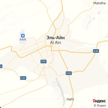 Карта Аль-Айна