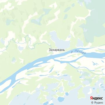 Карта Захара-Ваня