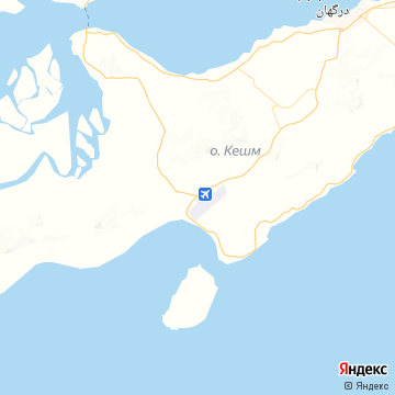 Карта Gheshm