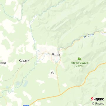 Карта Аши
