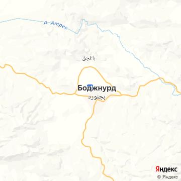 Карта Bojnord