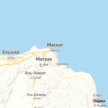 Карта Муската