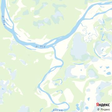 Карта Косью-Вома