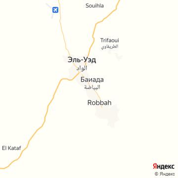 Карта Эль-Уэда