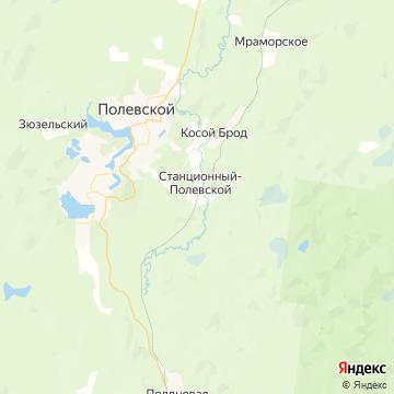 Карта Сысерти