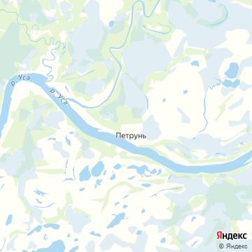Карта Петруня