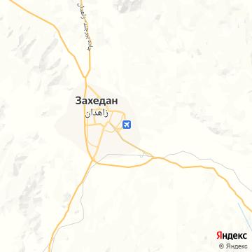 Карта Захедана