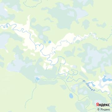 Карта Понила