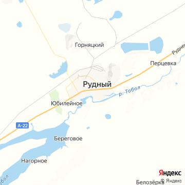 Карта Рудного
