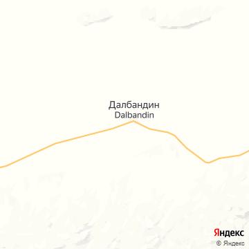 Карта Далбандина