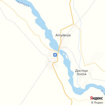Карта Атамырата