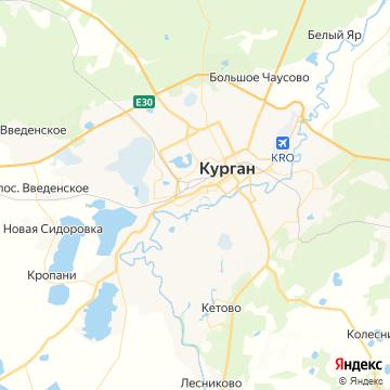 Карта Кургана