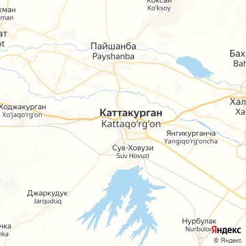 Карта Каттакургана
