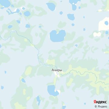 Карта Ачир