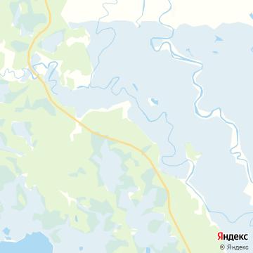 Карта Ягурьях
