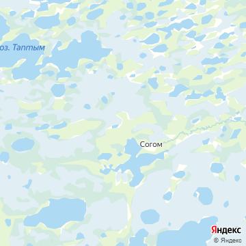 Карта Согома