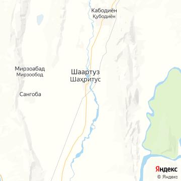 Карта Шаартuz