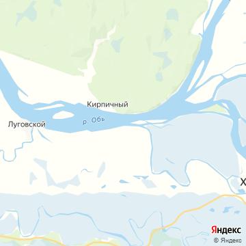 Карта Кирпичного