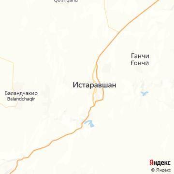 Карта Истаравшана
