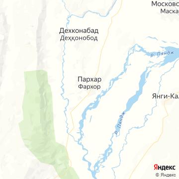 Карта Фархора