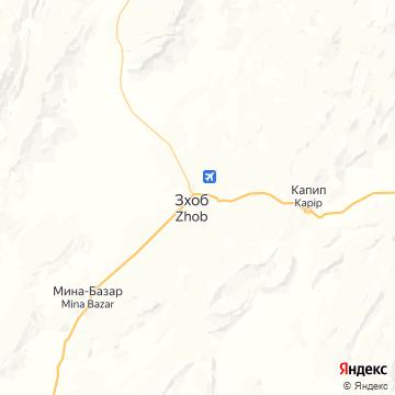 Карта Жоб