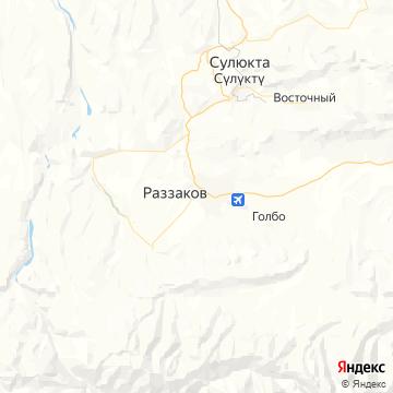 Карта Исфаны