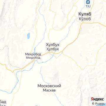 Карта Восе