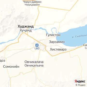 Карта Гафурова