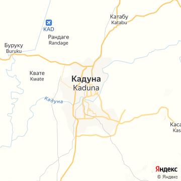 Карта Кадуны