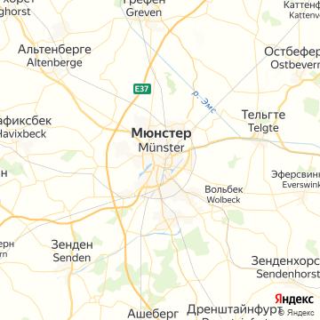 Карта Мюнстера