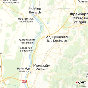 Карта Бремгартена