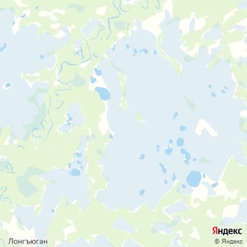 Карта Лонга-Югана