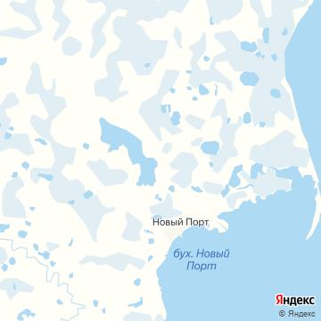 Карта Нового Порта