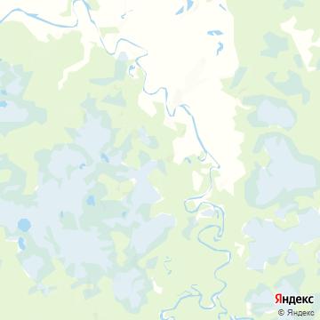 Карта Югана
