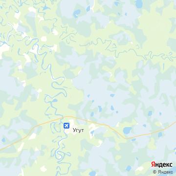 Карта Угута