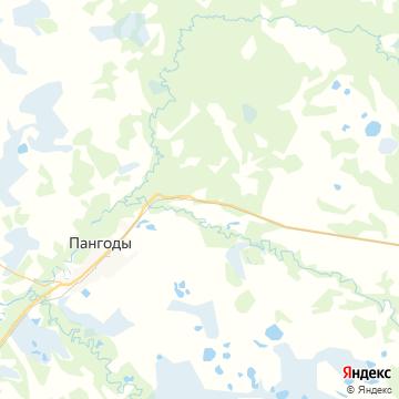 Карта Пангод